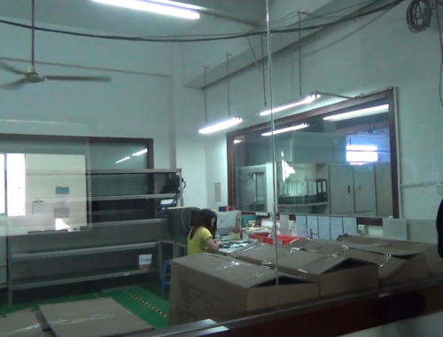 Assembly Line Inspection Mp3 Players Manufacturer China
